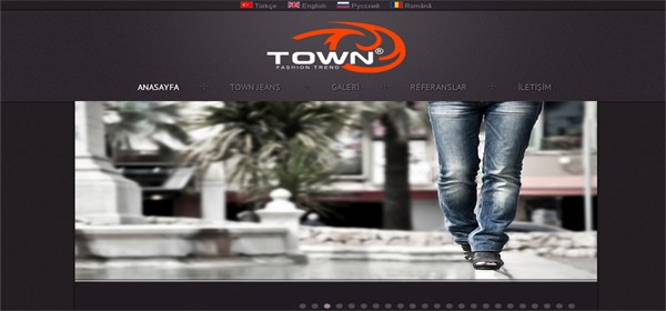 TOWN JEANS